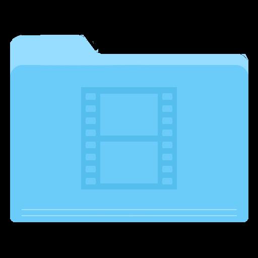 Folder Video Icon Yosemite Flat Iconset Dtafalonso