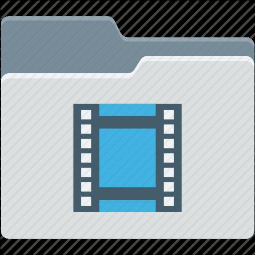 Movie File, Movies, Multimedia File, Video Clip, Video Folder Icon