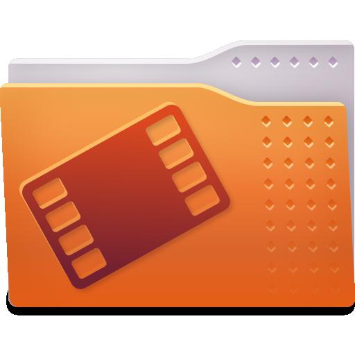 Places Folder Video Icon Fs Ubuntu Iconset
