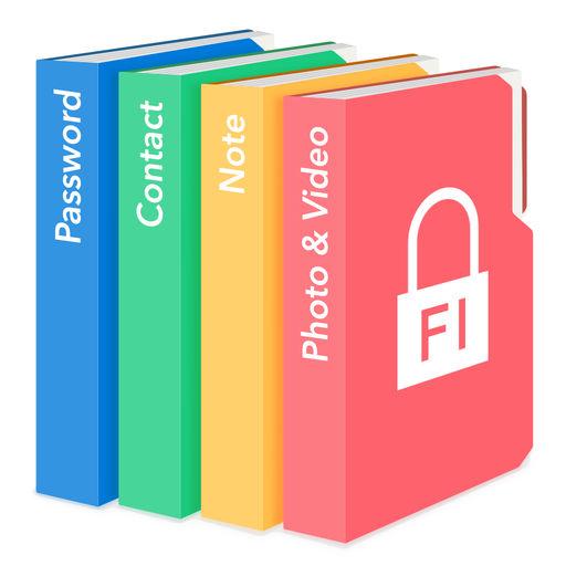 Secret Folder Icon Data Vault