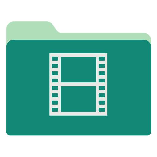 Videos Icon Green Tropical Waters Folders Iconset Janosch