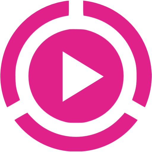 Barbie Pink Video Play Icon