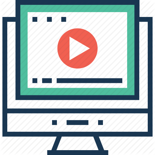 Commercial, Movie, Online Video, Production, Video Icon