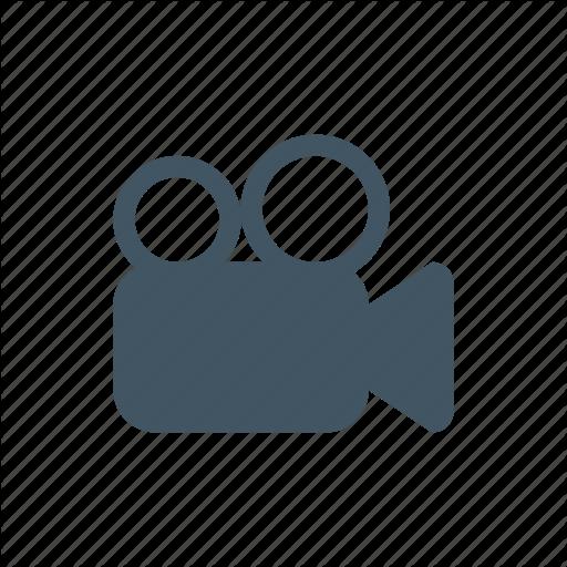Cinema, Movie, Video, Video Camera, Video Recording Icon