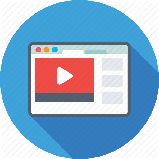 Buffering, Media, Online Video, Video Player, Video Streaming Icon