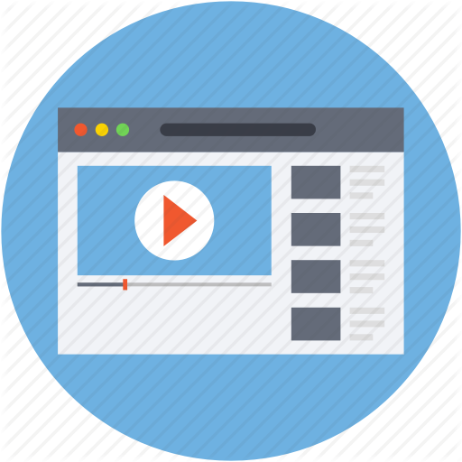Media, Multimedia, Video, Video Player, Video Streaming Icon