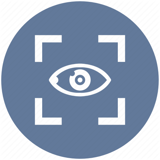 Biometry, Eye, Frame, Left, Preview, Search, View Icon