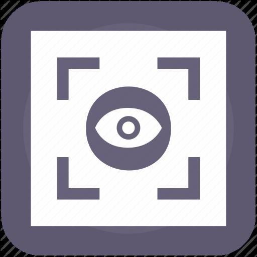 Biometry, Eye, Frame, Scanner, Search, View Icon