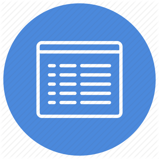 Configuration, Custom, Details, Interface, List, Mode, View Icon