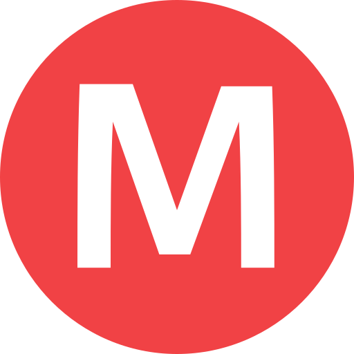 Brussels Metro Icon