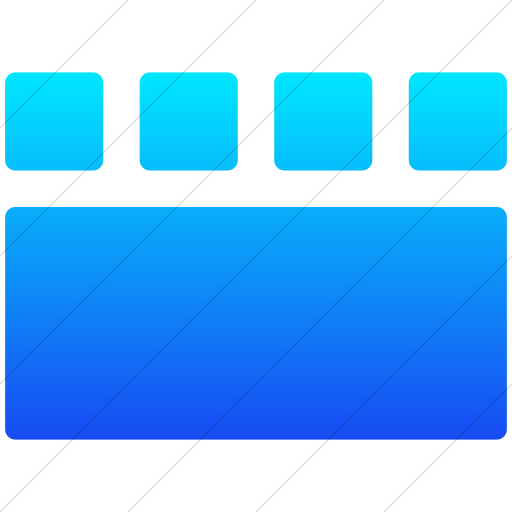 Simple Ios Blue Gradient Layouts Rounded Short Details