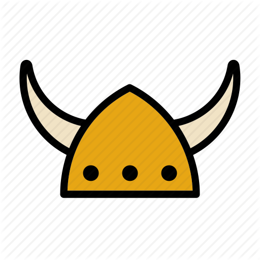 Hat, Helmet, Horn, Horns, Nordic, Norse, Viking Icon