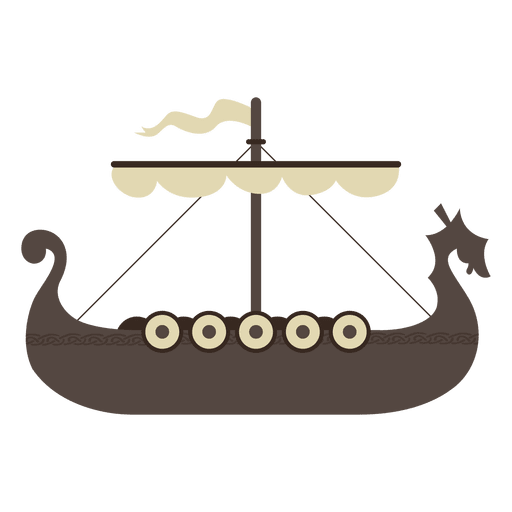 Viking Boat Ship Icon