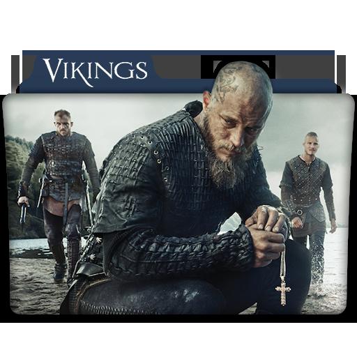 Vikings Tv Series Folder Icon