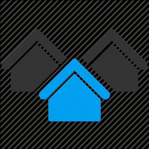 Apartment, Building, Buildings, City, House, Real Estate, Village Icon