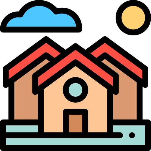 Village Icon For Maps