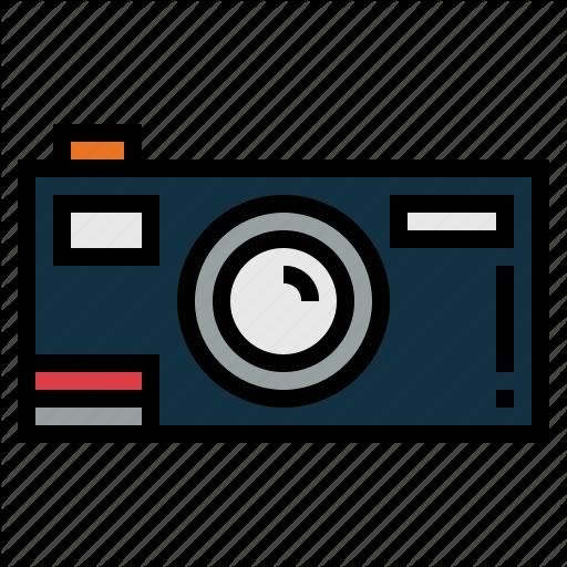 Camera, Electronics, Photography, Vintage Icon