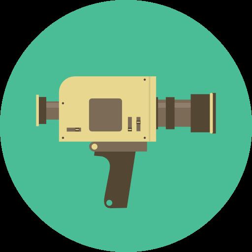 Electronics, Antique, Vintage, Video Camera, Super Icon