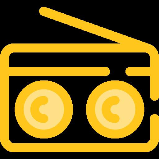 Music, Radio, Technology, Electronic, Electronics, Vintage Icon