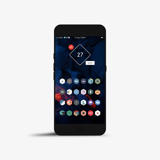 Polygon Icon Pack Apk