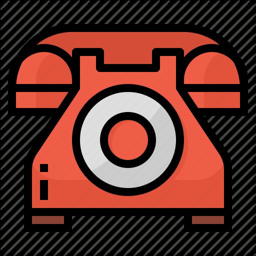 Communicate, Phone, Telephone, Vintage Icon