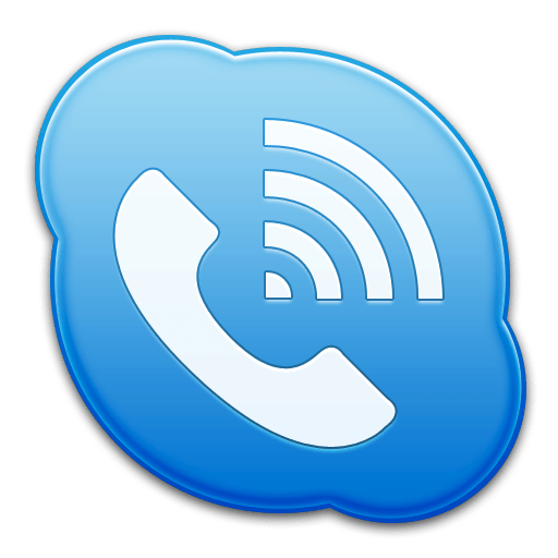 Skype Phone Icon Transparent Png