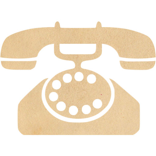 Vintage Paper Phone Icon