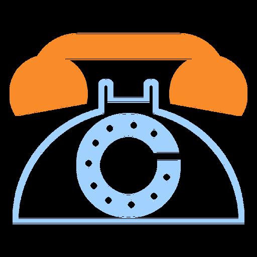 Vintage Telephone Line Style Icon