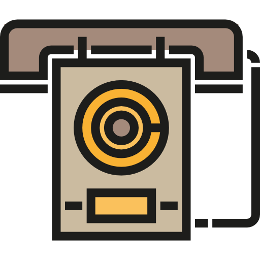 Technology, Communications, Vintage, Phone, Phone Call, Telephone Icon
