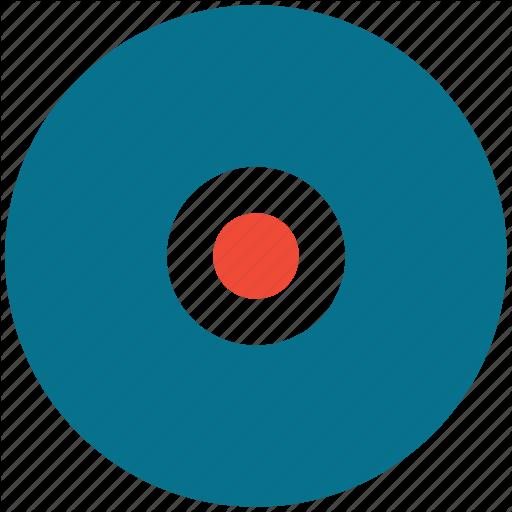Music Record, Phonograph Record, Vinyl Lp, Vinyl Record Icon