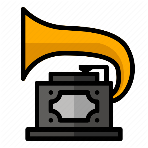 Audio, Classic, Music, Player, Retro, Sound, Vinyl Icon