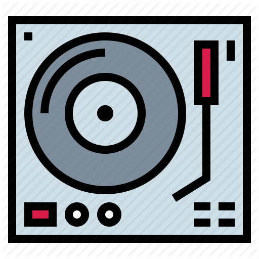 Dj, Music, Music Player, Turntable, Vinyl Icon