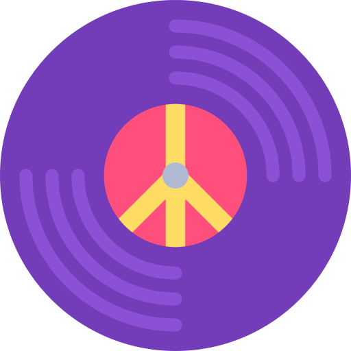 Vinyl Hippie Png Icon