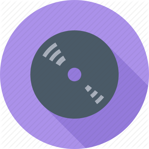 Audio, Music, Record, Sound, Vinyl Record Icon