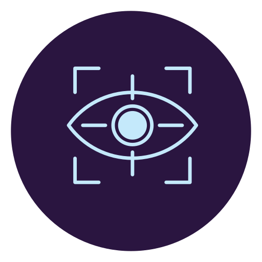 Augmented, Virtual, Reality, Eye Icon Free Of Virtual Reality