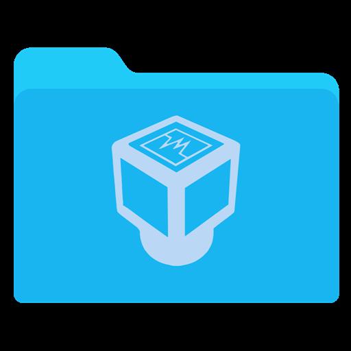 Virtualbox Blue Icon