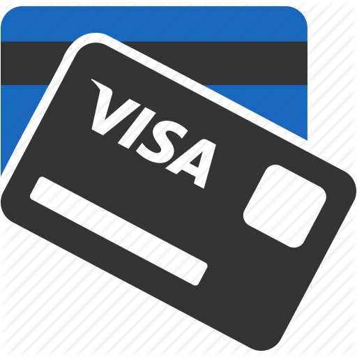 Bank Card, Debit Card, Dollar, Money, Order, Payment, Visa Card Icon