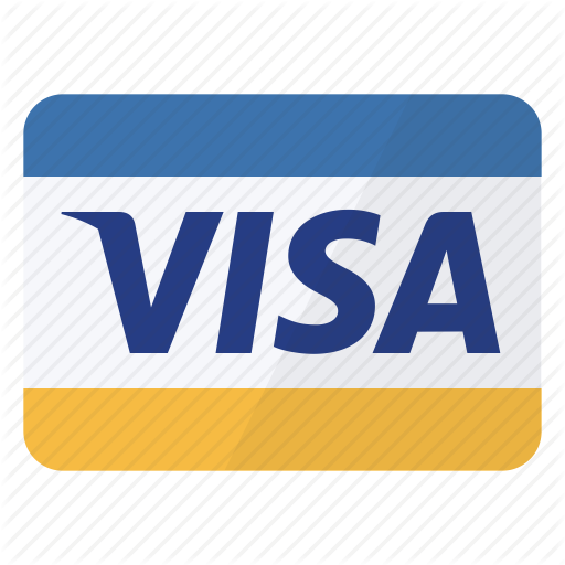 Credit Card, Mean, Method, Payment, Visa Icon