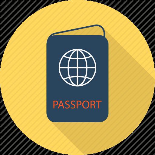 Luggage, Passport, Travel, Visa Icon
