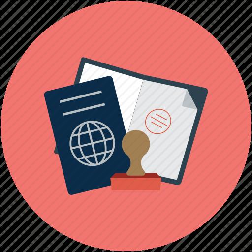 Passport, Travel Id, Travel Permit, Visa Icon