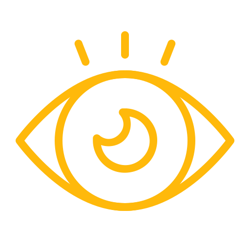 Watch, Eye, Look, Vision, View, Idea Icon