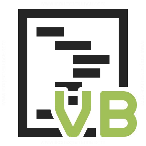 Code Vbasic Icon Iconexperience