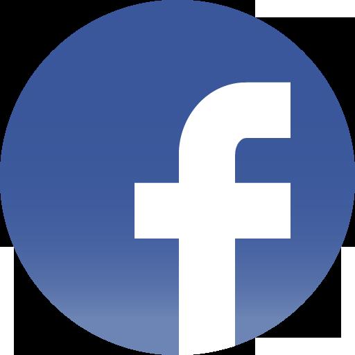 Facebook Round Social Icons Visual Novel