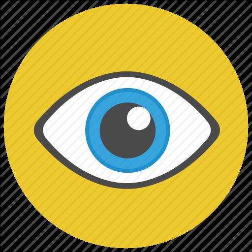 Eye, View, Visibe, Visual Icon