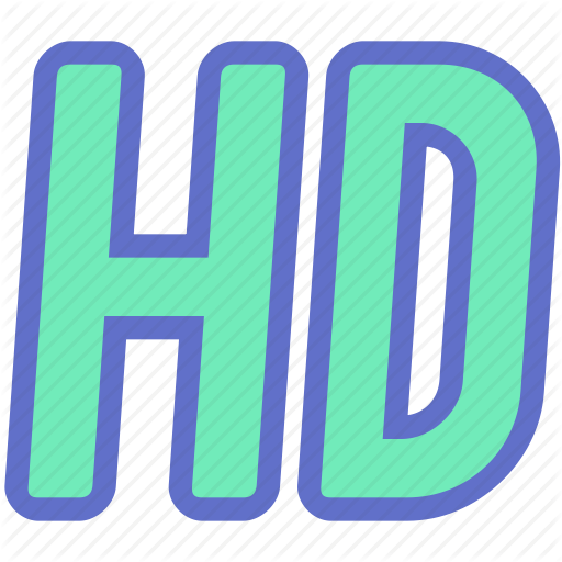 Film, Hd, High Quality, High Definition, Movie, Quality, Video Icon