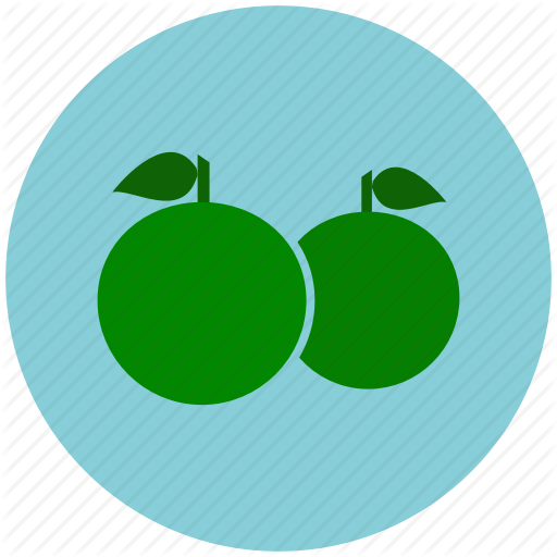Citrus, Fruits, Healthy, Lemon, Orange, Vitamin C Icon