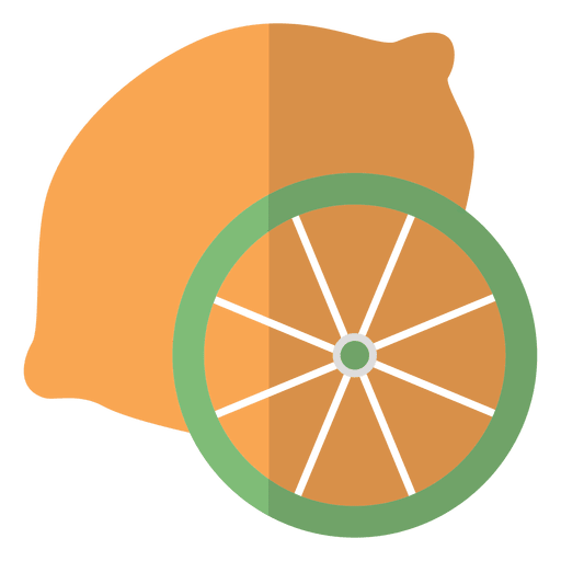 Orange Fruit Icon
