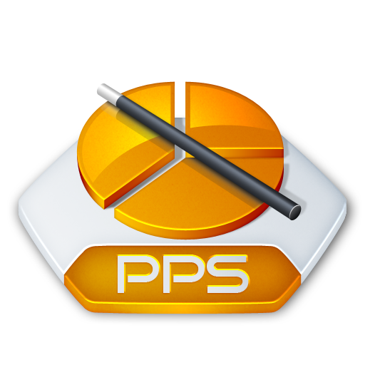 Ms Powerpoint Pps Icon