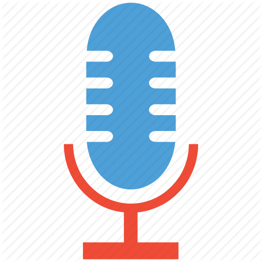 Condenser Microphone, Mic, Microphone, Voice Recorder Microphone Icon
