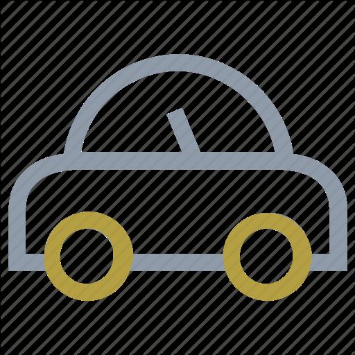 Cartoon Car, German Motor Car, Motor, Old Model Car, Volkswagen